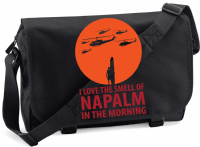 I LOVE NAPALM IN THE MORNING M/BAG - INSPIRED BY APOCALYPSE NOW MARLON BRANDO MARTIN SHEEN